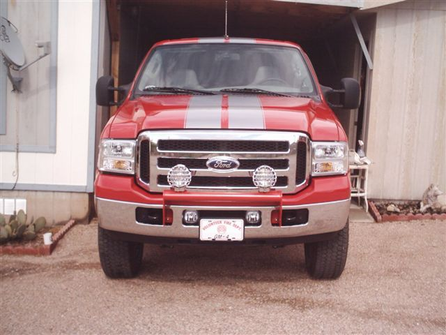 ford truck racing stripes