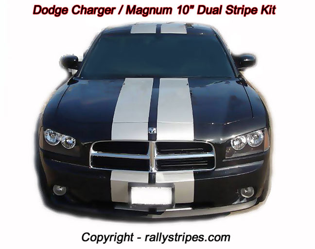 Dodge Charger Stripes Decals Dodge Charger Racing Stripes